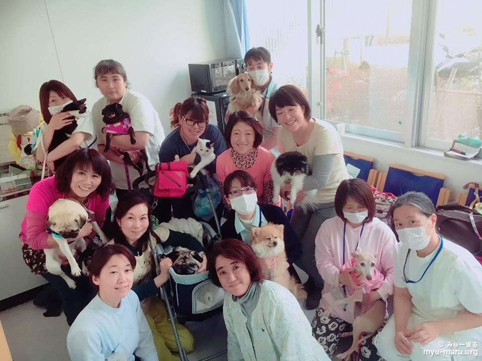 横浜市内の高齢者施設訪問♪