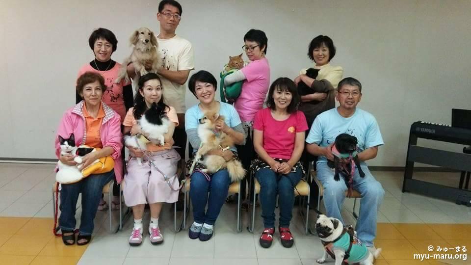 10月14日(土)、第2土曜は恒例の、横須賀市内の高齢者施設訪問☆