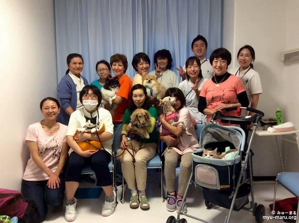 11月8日(水)の横浜市内の高齢者施設訪問♪