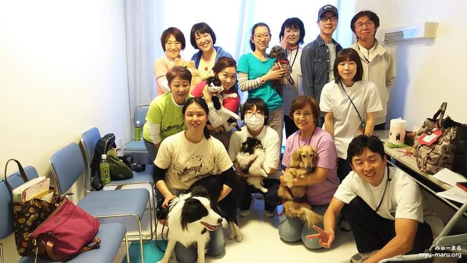横浜市内の高齢者施設訪問