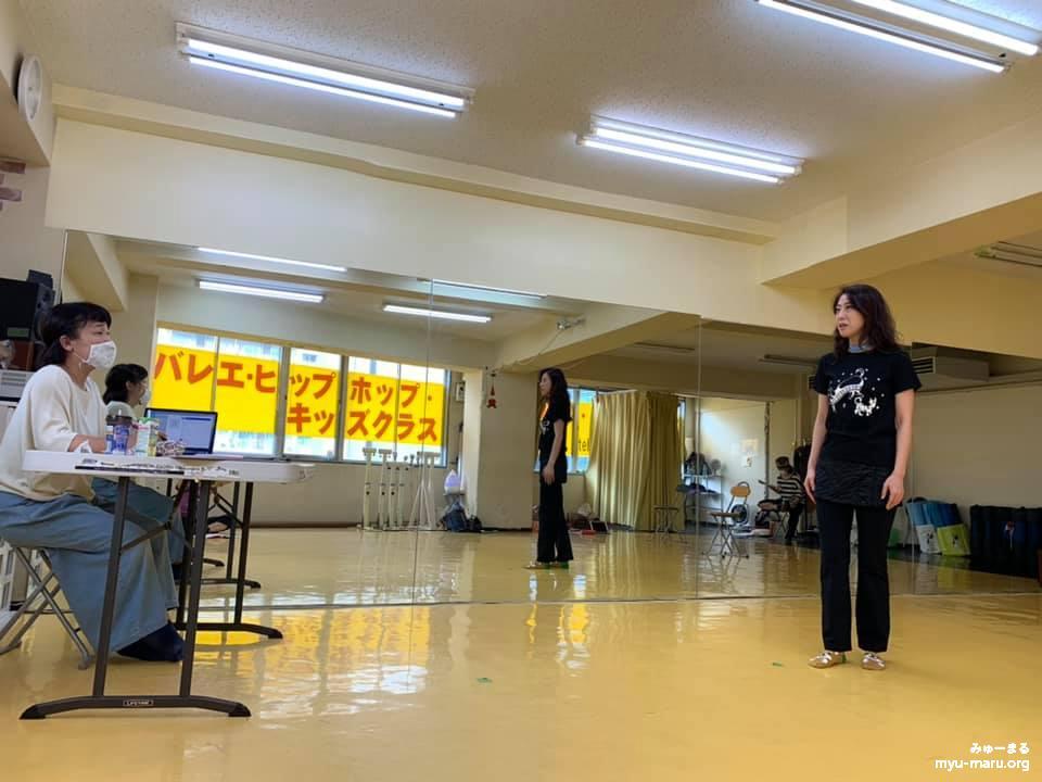 10/13(火)の「ワンライフ」の稽古